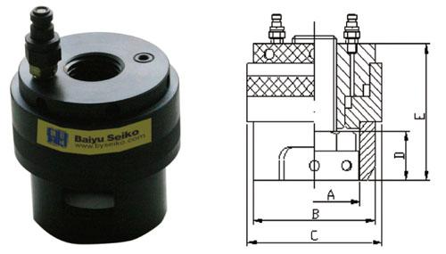 液压螺栓拉伸器 >> stg系列 普通型液压拉伸器  ● 标准工作图片